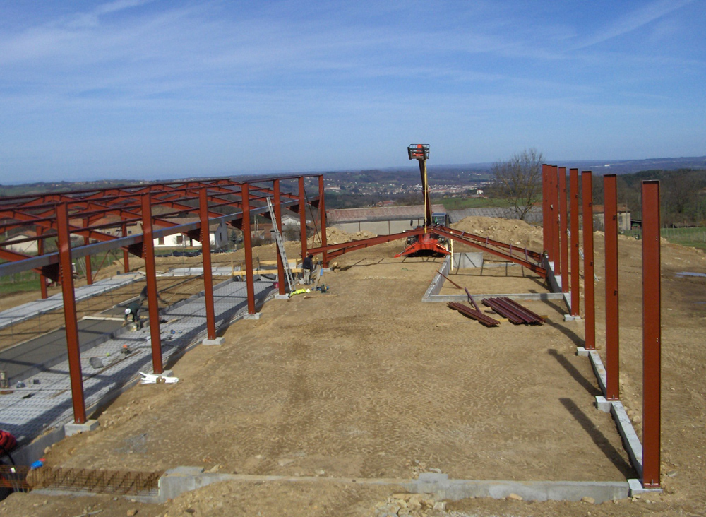 Constructeur Batiment Agricole Bois - Agrotech SAS Constructions métalliques B u00e2timents agricoles