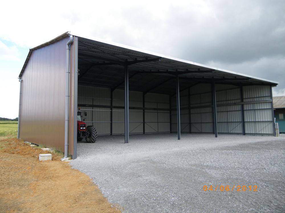 Agrotech sas constructions m talliques b timents agricoles - Constructeur de hangar agricole ...